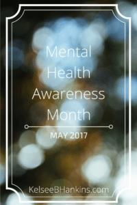Mental Health Awareness Month - May 2017