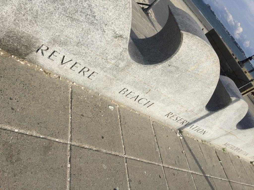 Revere Beach Sign